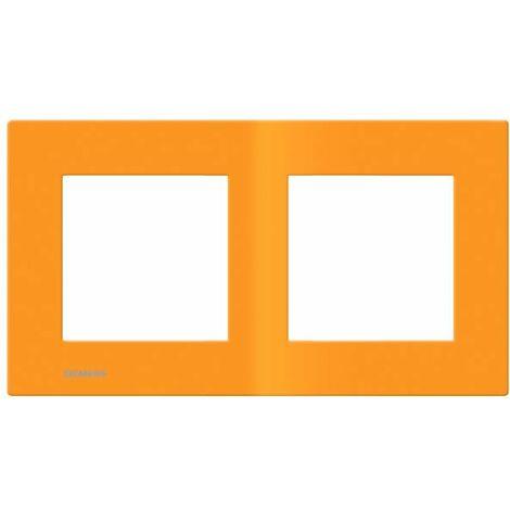 Plaque Double Orange Siemens DELTA VIVA - SIEMENS