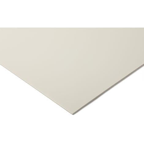 Plaque en ABS blanc, 1.22m x 610mm x 3mm