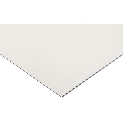 Plaque en polycarbonate PC incolore, 1.25m x 610mm x 4mm