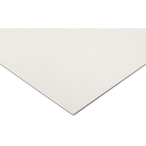 Plaque en polycarbonate PC incolore, 1.25m x 610mm x 6mm