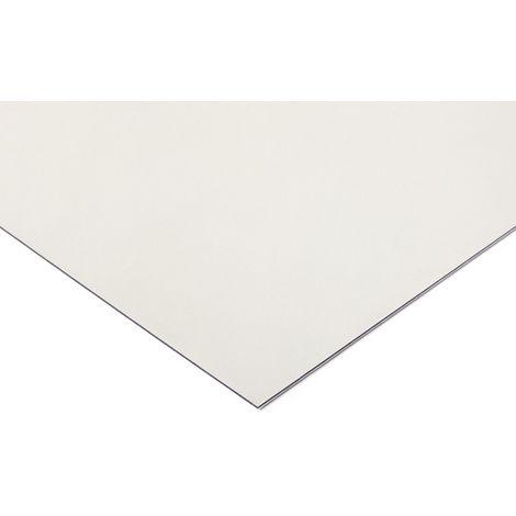 Plaque en polycarbonate PC incolore, 305mm x 625mm x 6mm