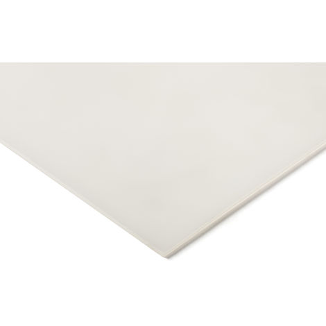 Plaque en polyéthylène PE blanc, 960mm x 470mm x 4mm