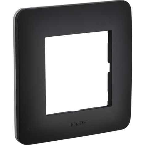 Casual - plaque simple - Debflex | noir mat