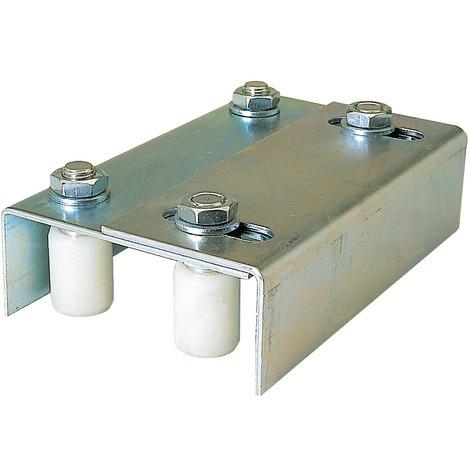 Plaque guide Guitel point M - Longueur 220 mm - Largeur 139 à 173 mm