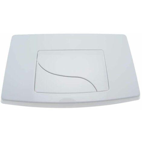 Plaque intégra double touche blanche Bâtichasse 500 et 535