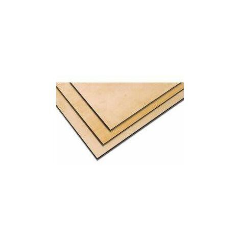 Plaque laiton 0,6 x 400 x 200 Modelcraft