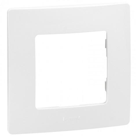 "main image of ""Plaque Legrand Niloe 1 poste Pur Blanc"""