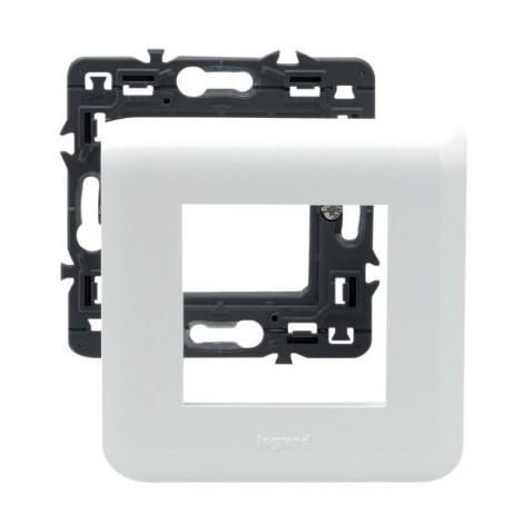 Plaque Mosaic 2 modules - blanc