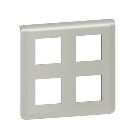Plaque Mosaic - 2x2x2 modules - Aluminium
