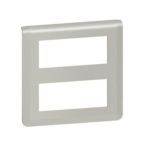 Plaque Mosaic horizontale - 2x5 modules - Aluminium