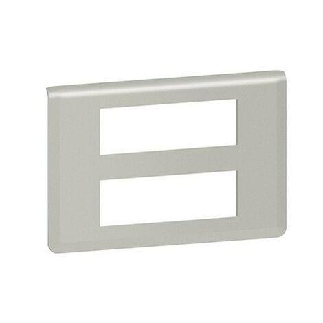 Plaque Mosaic horizontale - 2x6 modules - Aluminium