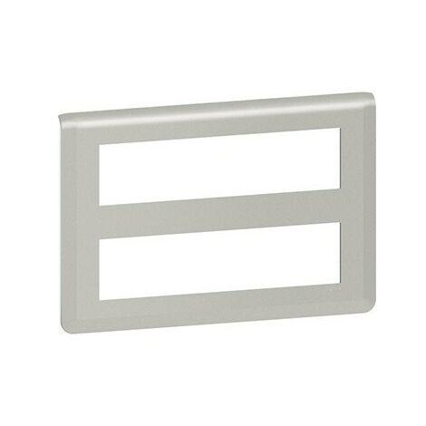 Plaque Mosaic horizontale - 2x8 modules - Aluminium