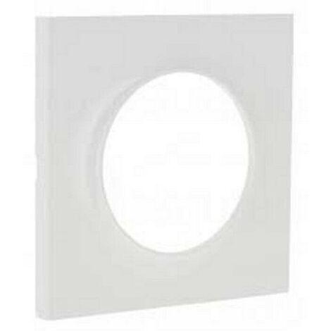 Plaque Odace Styl blanc simple S520702 Schneider Lot de 10 plaques