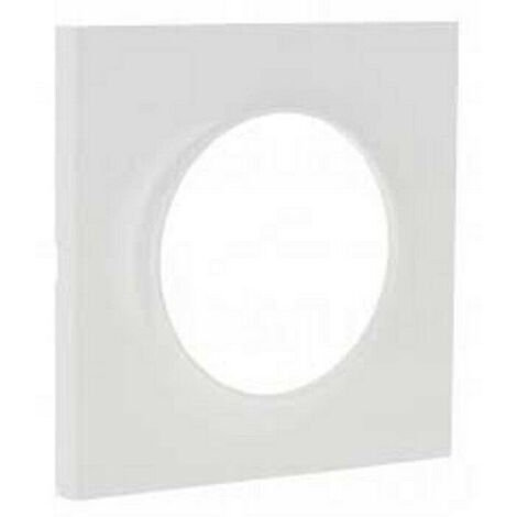 Plaque Odace Styl blanc simple S520702 Schneider Lot de 20 plaques