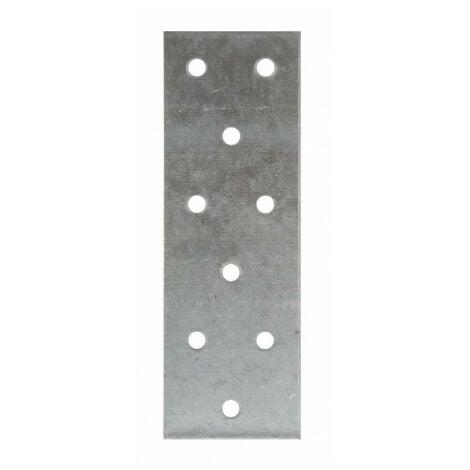 Plaque perforée acier galvanisé - 40 x 120 - SIMPSON