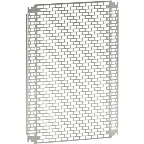 Plaque perforée Lina 25 - pour Atlantic/Inox/Marina H 400 x l 600