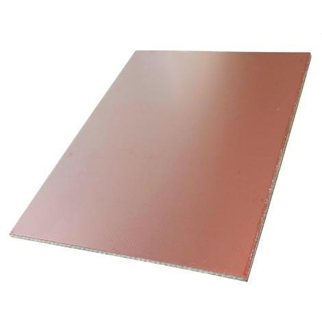 CLINQUANT ALUMINIUM FEUILLE 500 x 150 /épaisseur 0.025 mm