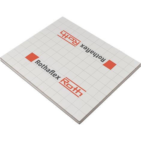 Plaque plane pour plancher chauffant 1200x1000 ep 20