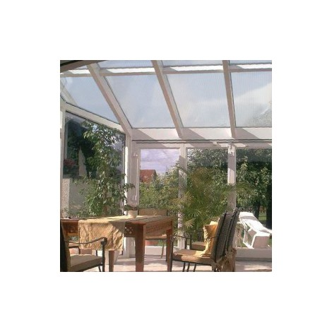 plaque polycarbonate alv olaire 25 mm 4 00 m x 1 20 m. Black Bedroom Furniture Sets. Home Design Ideas