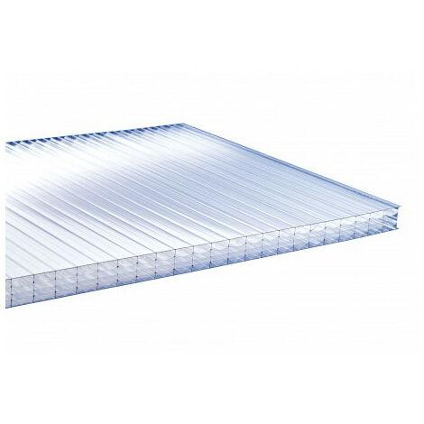 Plaque polycarbonate alvéolaire 4000 x 980 x 32mm