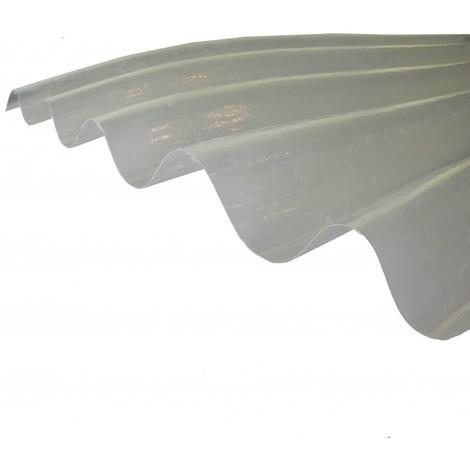 Plaque polyester ondulée (GO 177/51 - grandes ondes)