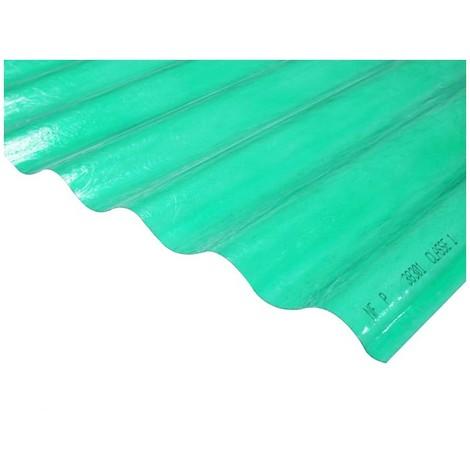 Plaque polyester ondulée (PO 76/18)