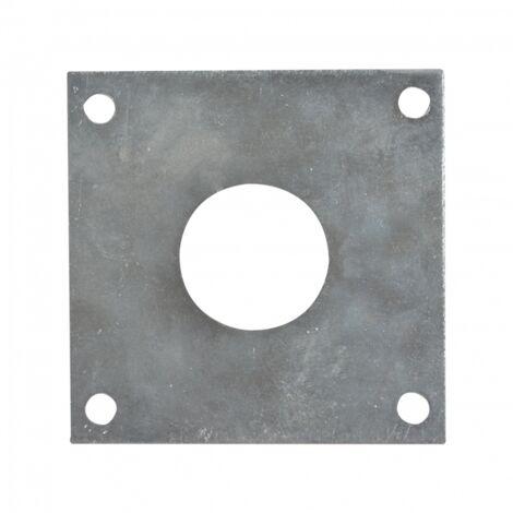 Plaque protectrice pour mésange - L 0,1 x l 7 x H 7 cm - Acier - Livraison gratuite