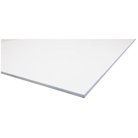 """main image of """"Plaque PVC expansé blanc"""""""