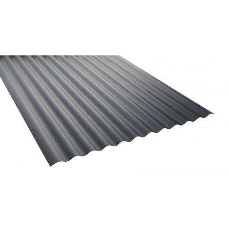 Plaque pvc ondulée opaque (PO 76/18 - petites ondes)