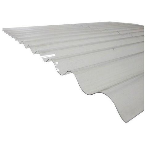 Plaque PVC ondulée (PO 76/18 - petites ondes)
