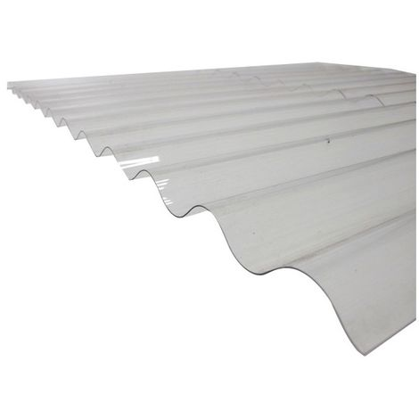 """main image of """"Plaque PVC ondulée (PO 76/18 - petites ondes)"""""""