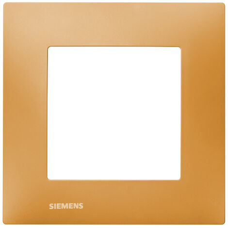 Plaque Simple Orange Siemens DELTA VIVA - SIEMENS