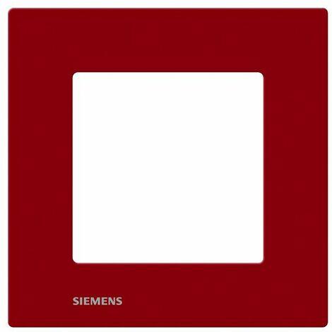 Plaque Simple Rouge Siemens DELTA VIVA - SIEMENS
