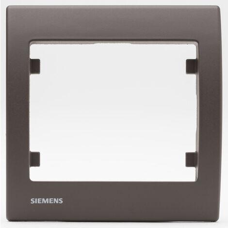 Plaque simple Soft Marron Delta IRIS - SIEMENS
