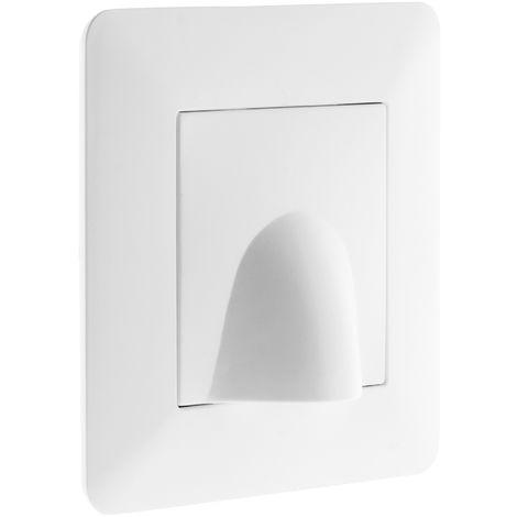 """main image of """"Plaque sortie de câble 16A Blanc - Artezo"""""""