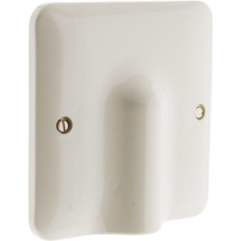 "main image of ""Plaque sortie de câble 32A 100 x 100 mm + serre câble"""