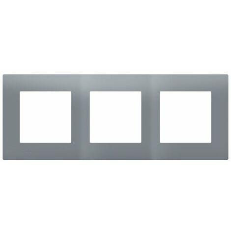 Plaque Triple Gris Siemens DELTA VIVA - SIEMENS