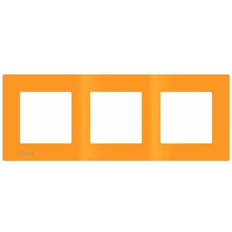Plaque Triple Orange Siemens DELTA VIVA - SIEMENS
