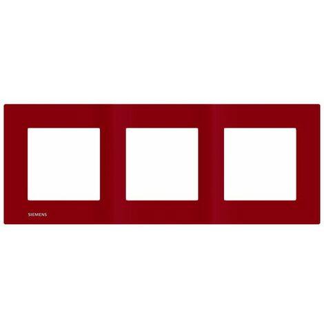 Plaque Triple Rouge Siemens DELTA VIVA - SIEMENS