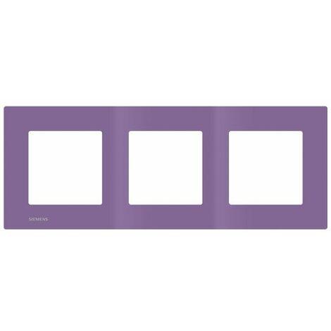 Plaque Triple Violet Siemens DELTA VIVA - SIEMENS