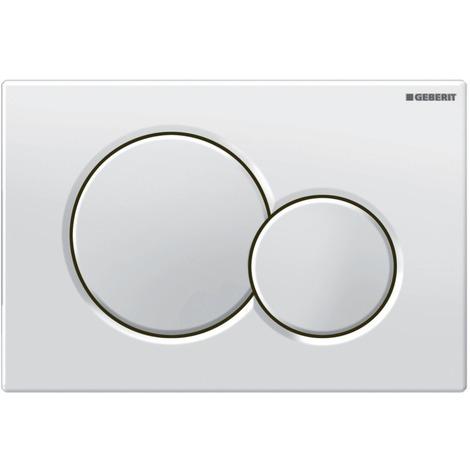 Plaque WC Sigma01 blanc