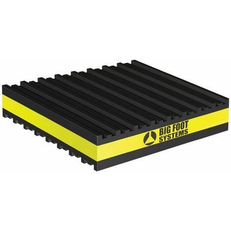 Plaques anti-vibrations - Dimensions : 101 x 101 x 22,2 mm
