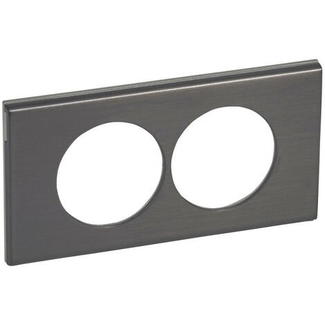 Plaques Céliane Black Nickel
