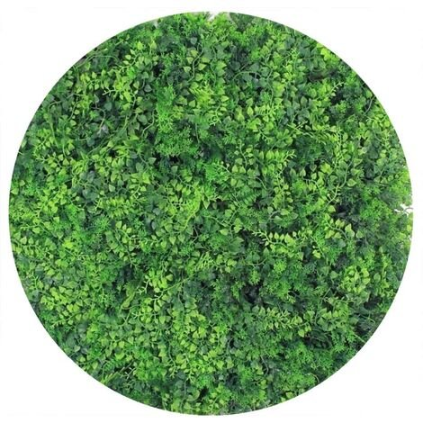 Plaques clipsables de feuillage artificiel 1m² (Lot de 4) Fougère - Vert