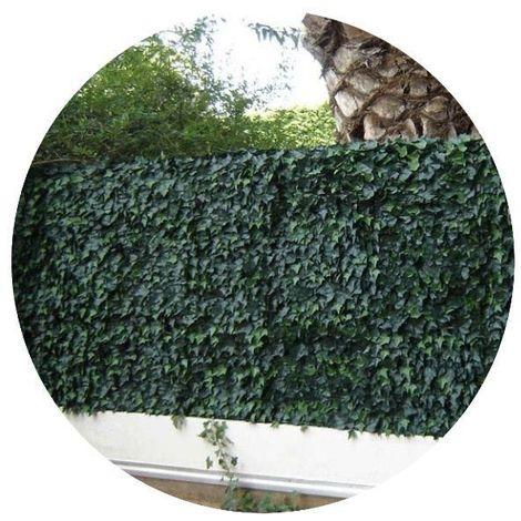 Plaques clipsables de feuillage artificiel 3m² (Lot de 12) Lierre - Vert
