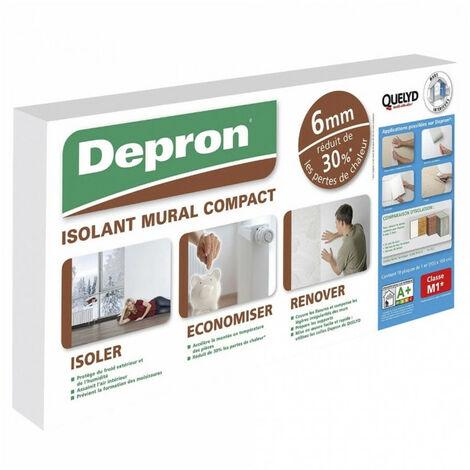Plaques de polystyrène 6mm x10 DEPRON