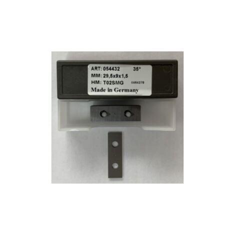 Plaquette carbure 29,5*9*1,5 - TS02-SMG / K01 - boite de 10 pieces