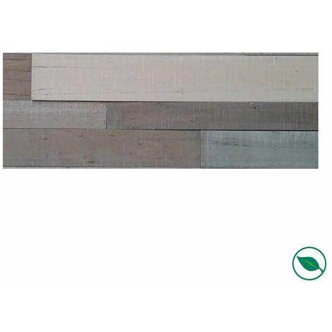 Plaquette de parement mural barnwall Toscane 1200 x 120/150 x 9 mm paquet de 0,85 m².