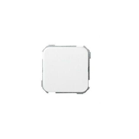 Plaquita ciega Serie 31 Blanco Nieve