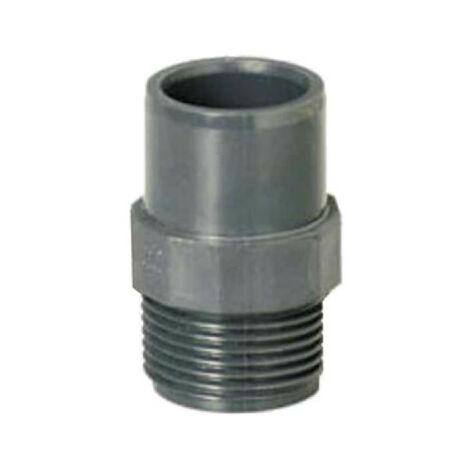 "PLASSON threaded spigot - Reduced - Male-Female - PN10 - D40/50 - 1""1/2 40917A"